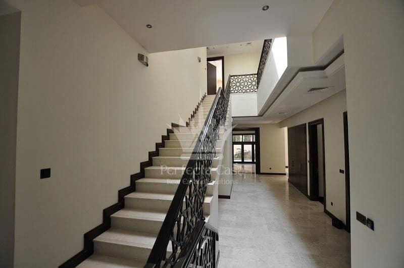 2 Upgraded 6 Bedroom Villa | Big Plot |  Al Barari