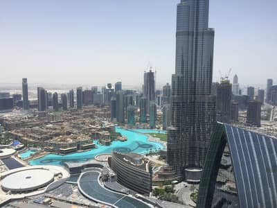 3 Bedroom Flat for Sale in Downtown Dubai, Dubai - Furnished 3br apartment on higher floor