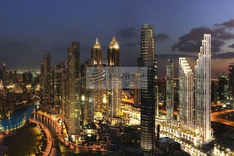 10 Luxurious 3BR | 2 Balconies | Burj Khalifa View