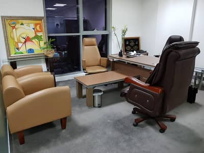 Office for Rent in International City, Dubai - NEW BUSINESS SETUP/FULLY FURNISHED OFFICE SPACE ONE YEAR CONTRACT & LABOR/BANK  INSPECTIONS