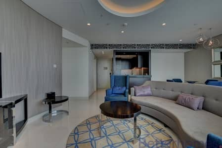 2 Bedroom Flat for Rent in Downtown Dubai, Dubai - Fully Furnished | Balcony | Community View