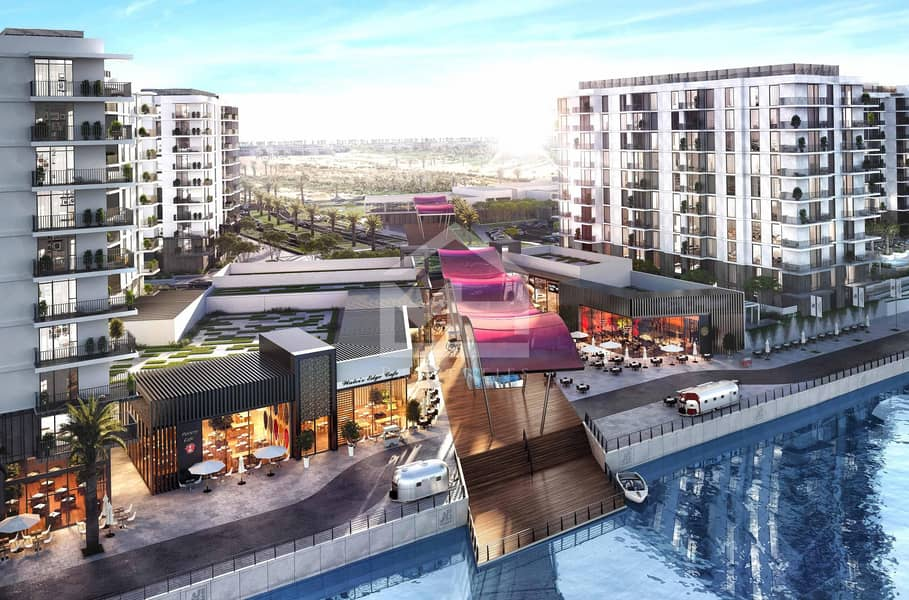 8  waterfront apartment in Yas Island