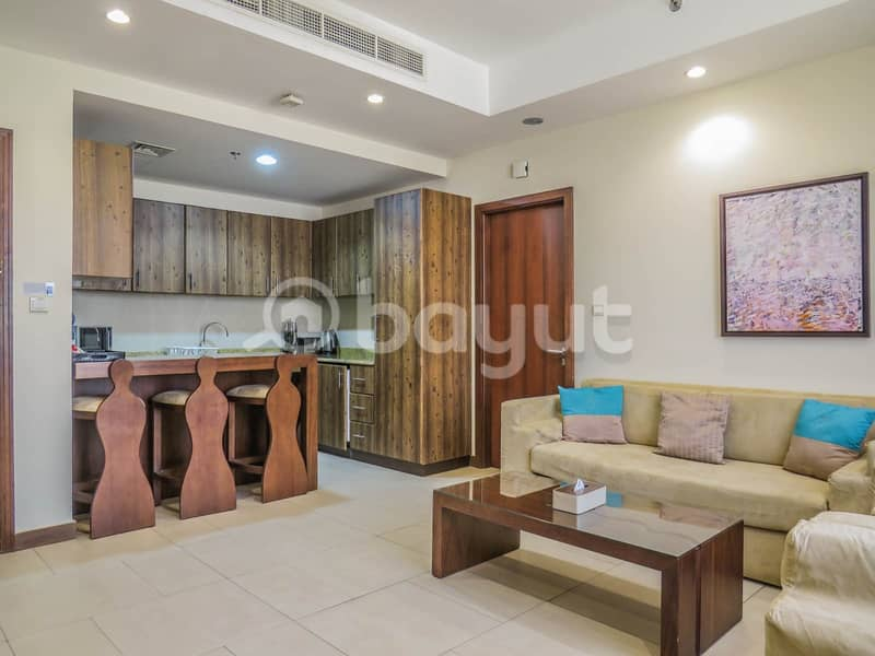 Fully Furnished Inspired by Art 2 Bedroom Apartment for rent! 12 Cheques!