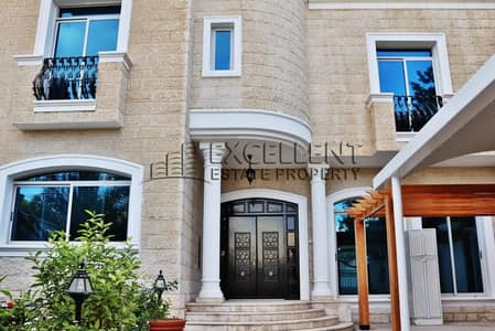 6 Bedroom Villa for Rent in Al Karamah, Abu Dhabi - Luxurious 6 BR Villa with Spacious Covered Parking