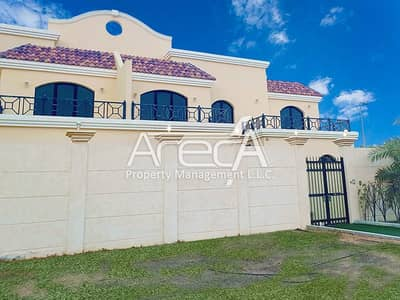 5 Bedroom Villa for Rent in Khalifa City A, Abu Dhabi - An in Budget 5 Bedroom Villa with Balconies for Rent in Khalifa City A.
