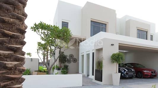 4 Bedroom Villa for Sale in Town Square, Dubai - Type 3E | 4BR + Maid| Noor Townhouse | Nshama Town Square