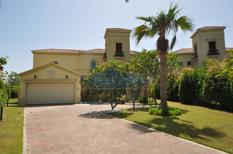 4 Bedroom Villa for Rent in Jumeirah Islands, Dubai - Upgraded l Fully Furnished l Mature Garden