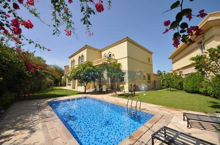 4 Bedroom Villa for Rent in Jumeirah Islands, Dubai - Upgraded l Fully Furnished l Mature Garden