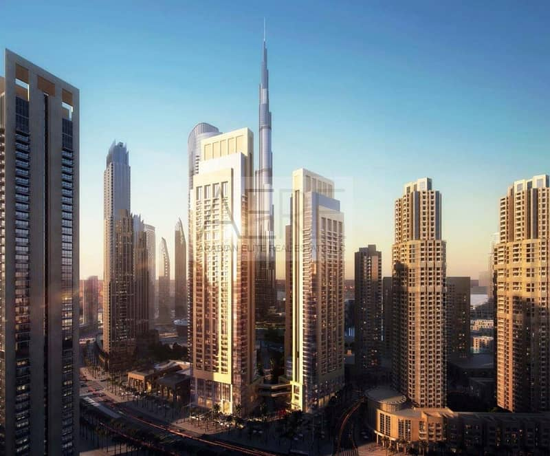 Uninterrupted views of Burj Khalifa and Fountain