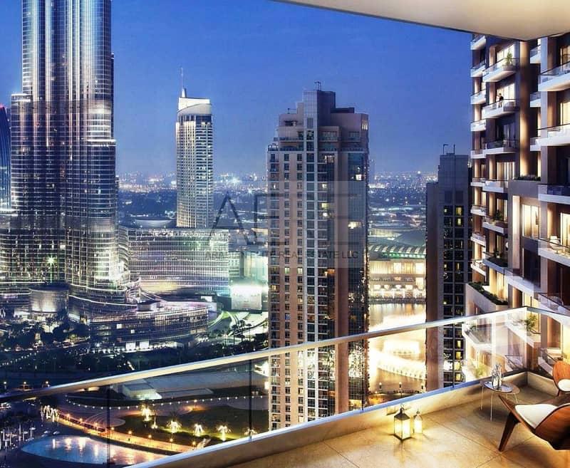 6 Uninterrupted views of Burj Khalifa and Fountain