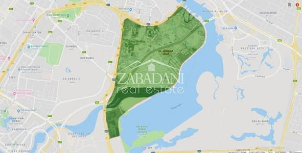 Plot for Sale in Bur Dubai, Dubai - Small Plot available at AED 225/SQFT