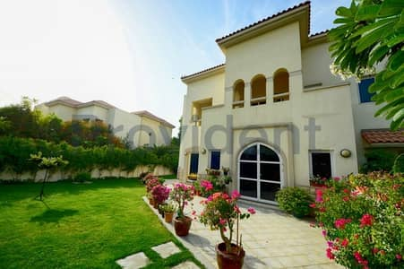 4 Bedroom Villa for Sale in Dubai Festival City, Dubai - Lush Greenery Home|4BR+M Villa |Al Badia