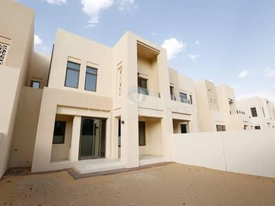 3 Bedroom Townhouse for Rent in Reem, Dubai - Single row | large plot | Type I white finish