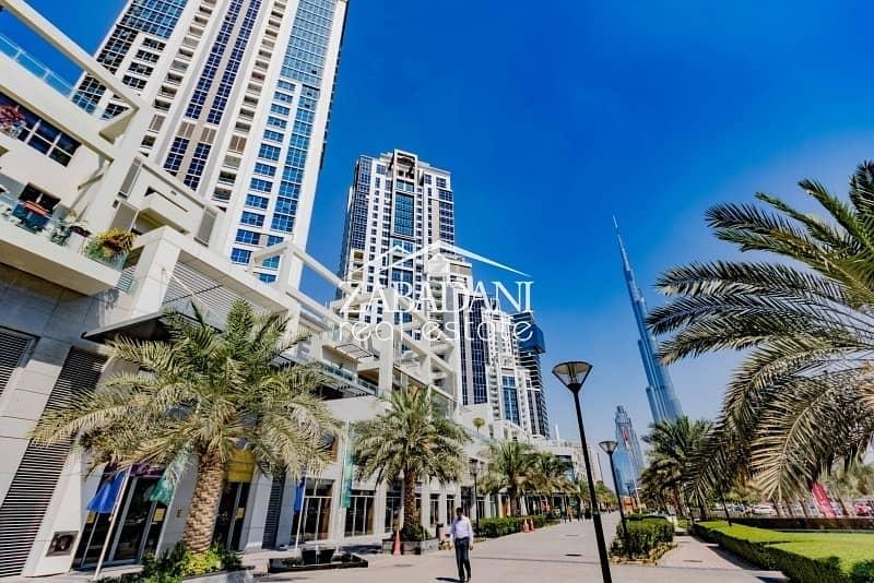 Podium Villa 4 Bedrooms plus Maid's Room with Burj Khalifa View