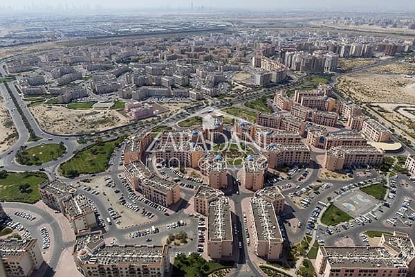 4 Plot For Sale In Internatinal City @ AED 58/Sqft