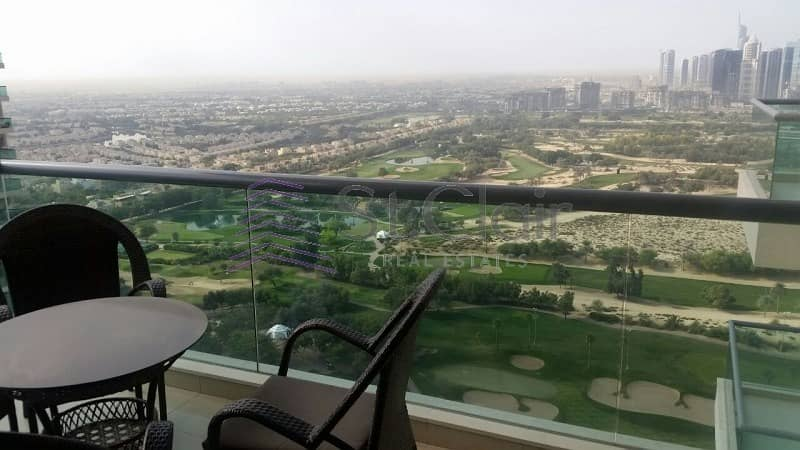 2 Beds with Balcony | Golf Tower 2 | Golf View