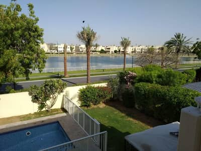 5 Bedroom Villa for Rent in The Meadows, Dubai - Meadows 7 Vacant 5 bedroom Villa with Pool and Garden Stunning Lake view Rent 235/-