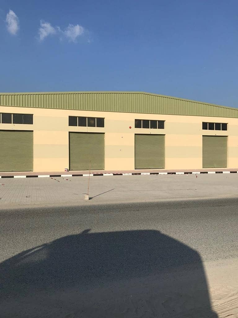 2 BRAND NEW WAREHOUSES FOR SALE