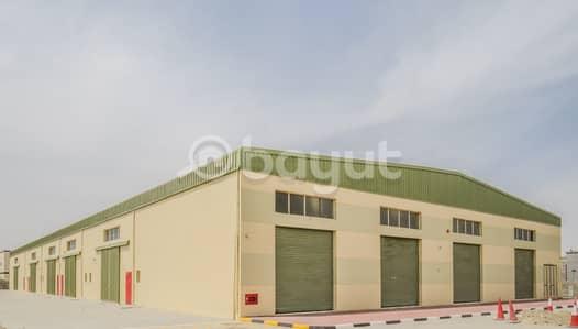 مستودع  للايجار في الجرف، عجمان - brand new warehouse with electricity load 50 kv