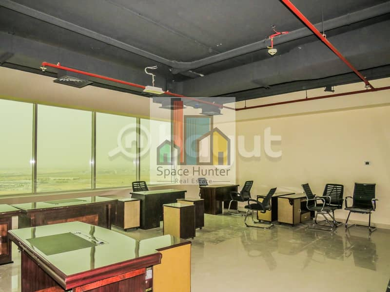 2 Fully fitted office for rent in DSO-43k ONLY