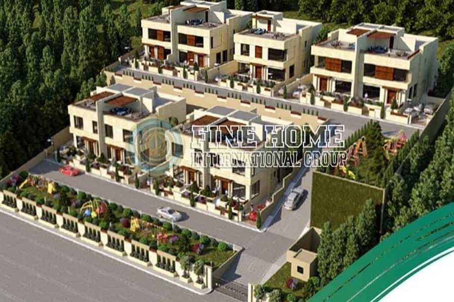 5 Villas compound in Mohmed Bin Zayed City