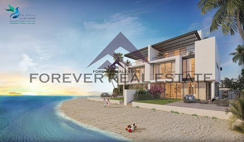 2 AMAZING....!!! SEA VILLAS   HOME  FOR YOUR LIFETIME INVESTMENT  JUST AED 1.7 MILLION