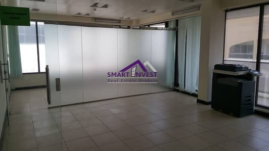 Fully Fitted office with attached washroom for rent in karama for AED 135K/yr.