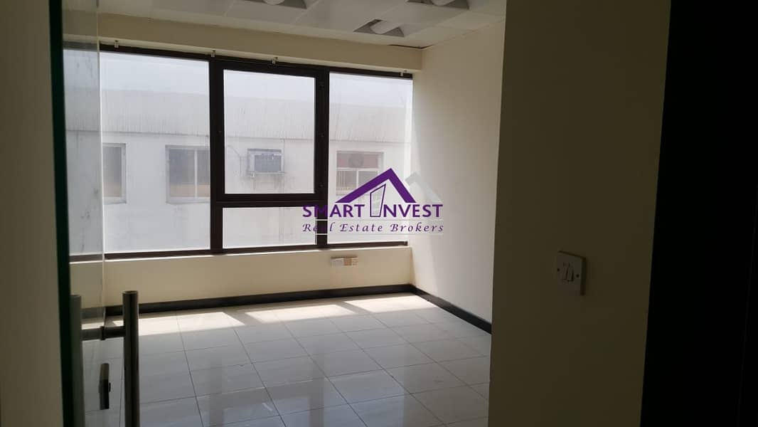 16 Fully Fitted office with attached washroom for rent in karama for AED 135K/yr.