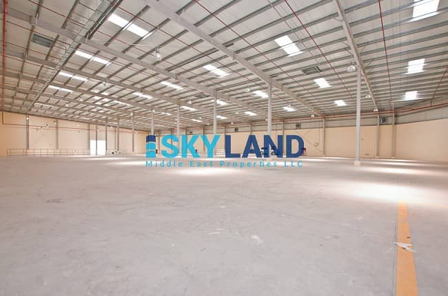 Huge Warehouse for Rent with competitive prices !