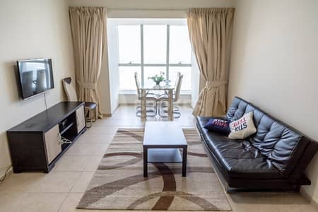 1 Bedroom Flat for Rent in Dubai Marina, Dubai - Furnished
