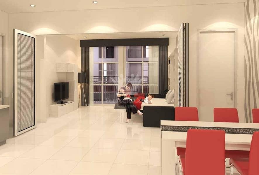 2 Best Price  |  Furnished Studio | Glamz Residence Al  Furjan