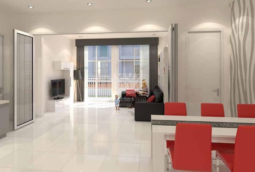 2 Best Price | Fully Furnished 2 BR | Glamz Residence Al Furjan