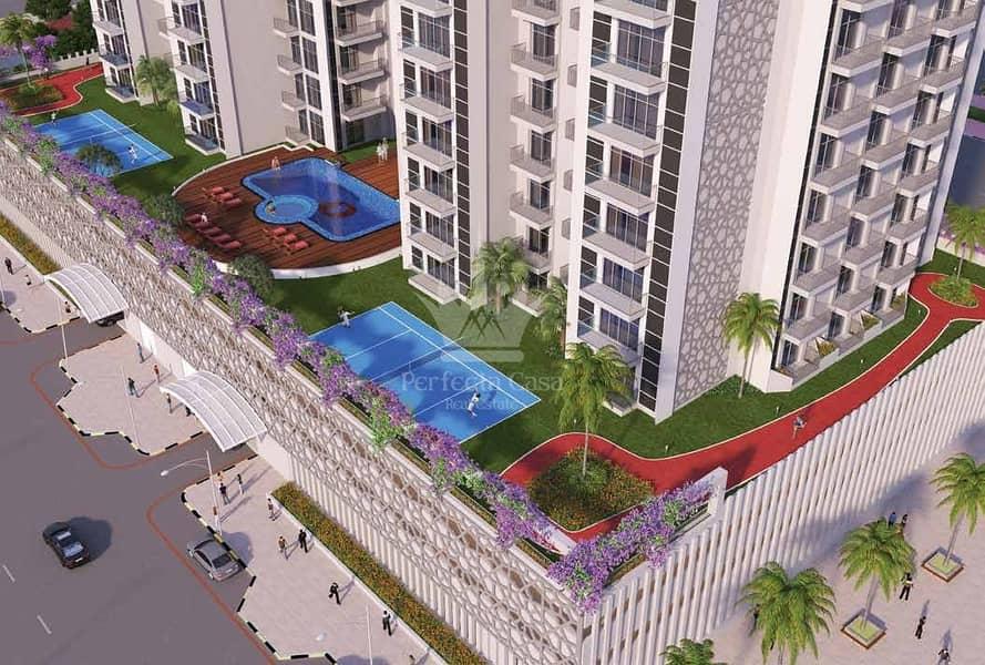 12 Best Price | Fully Furnished 2 BR | Glamz Residence Al Furjan