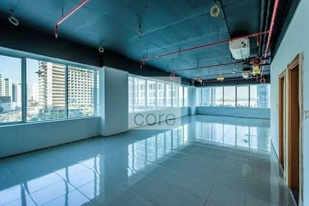 مکتب  للايجار في الخليج التجاري، دبي - Available Semi Fitted Office | Low Floor
