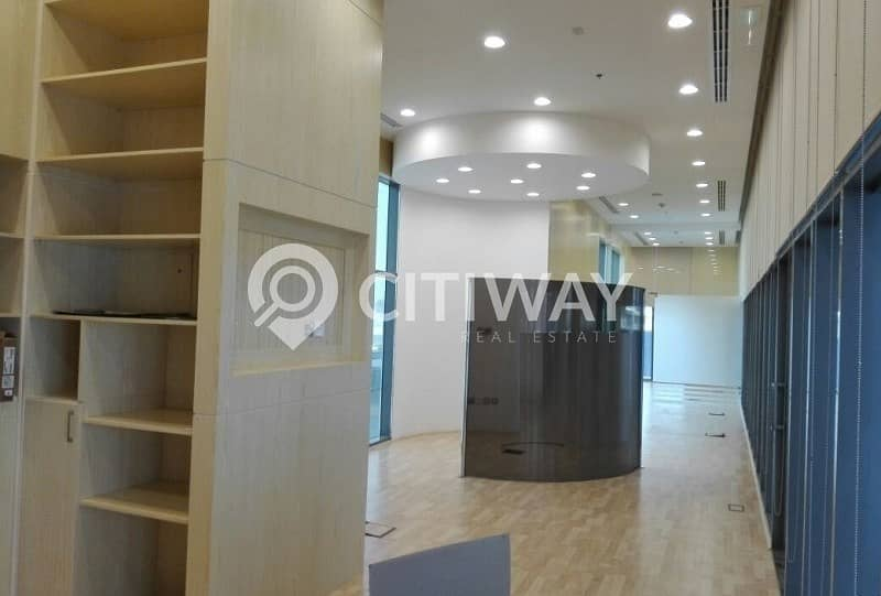 2 Fully Fitted Retail Space with Attached Pantry in Business Bay