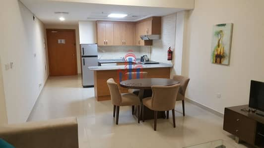 1 Bedroom Apartment for Rent in Downtown Jebel Ali, Dubai - Fully Furnished - High Floor BIG 1BR Suburbia