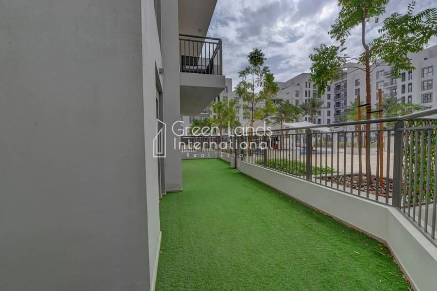 30 3BR + M | Park & Pool View | town square ! available now.