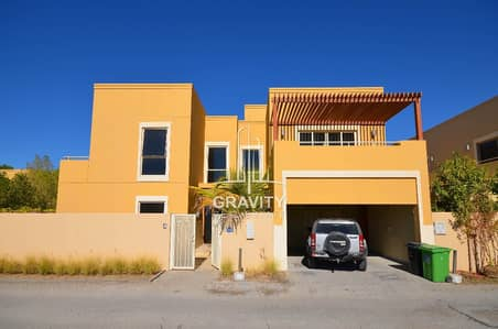 4 Bedroom Villa for Sale in Al Raha Gardens, Abu Dhabi - Urgent for sale! 4BR villa w/ maid's room vacant upon transfer