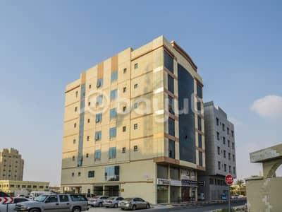 فلیٹ 1 غرفة نوم للايجار في الحميدية، عجمان - غرفة وصالة للإيجار بمنطقة الحميدية 1 - تكييف مركزي - بناية مواطن