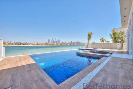فیلا 5 غرفة نوم للايجار في نخلة جميرا، دبي - Seeing Is Beveling|5BR + Maid|Brand New