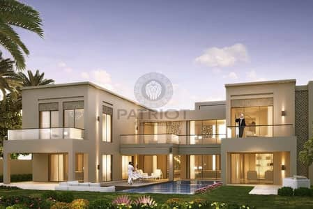 6 Bedroom Villa for Sale in Dubai Hills Estate, Dubai - FULL BURJ KHALIFA/PARK VIEWS/ 6 BEDROOM+MAID/HAND OVER 2019