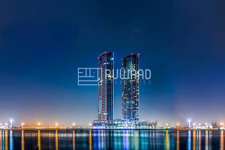 Office for Rent in Dafan Al Nakheel, Ras Al Khaimah - Amazing Partition Office for Rent in Julphar Towers, RAK( Sea View )