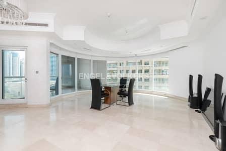 شقة 3 غرفة نوم للبيع في دبي مارينا، دبي - Vacant | Spacious | Maid's Room | Terrace