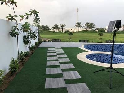 فیلا 5 غرف نوم للبيع في الزوراء، عجمان - فيلا مع مسبح   للبيع باقساط مناسبة مساحة 10500 قدم اطلالة على ملعب الجولف