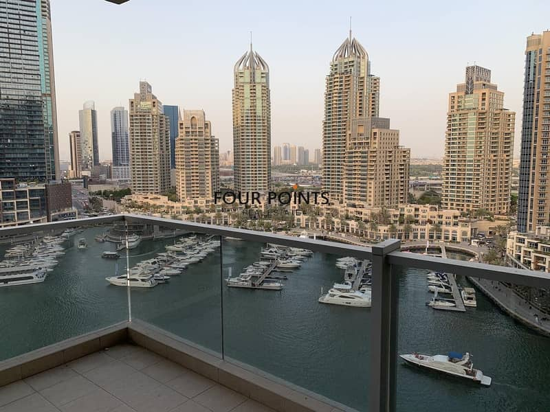 Chiller Free 3BR+M in Marina Tower Full Marina View
