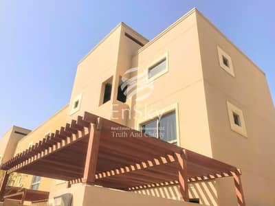 3 Bedroom Townhouse for Rent in Al Raha Gardens, Abu Dhabi - Move in by May in this Exclusive Community in Raha Garden