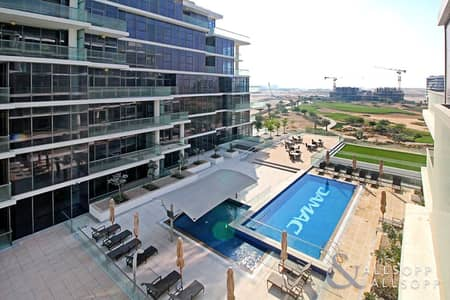 1 Bedroom Flat for Rent in DAMAC Hills (Akoya by DAMAC), Dubai - One Bed | Furnished | Golf Course Views