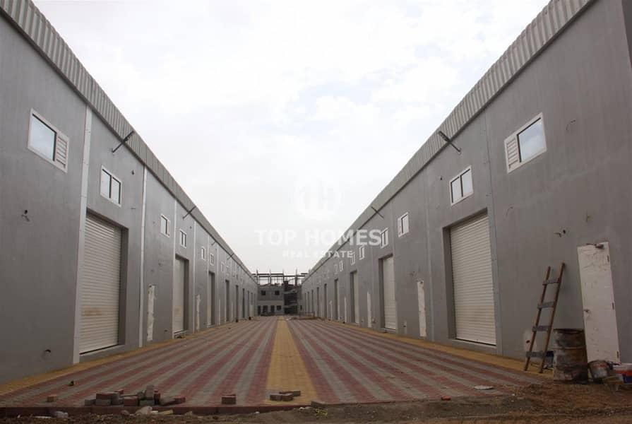 2 ware house in umm al Quwain industrial city