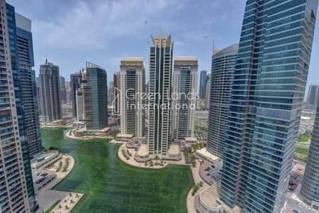 2 Bedroom Flat for Sale in Jumeirah Lake Towers (JLT), Dubai - UN FURNISHED!! FULL LAKE VIEW !!BIG SPACE ! FOR SALES.