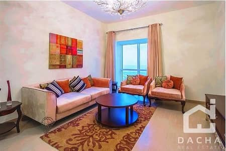 1 Bedroom Flat for Sale in Dubai Marina, Dubai - Mortgage available! AMAZING PRICE for furnished apt in MARINA 101